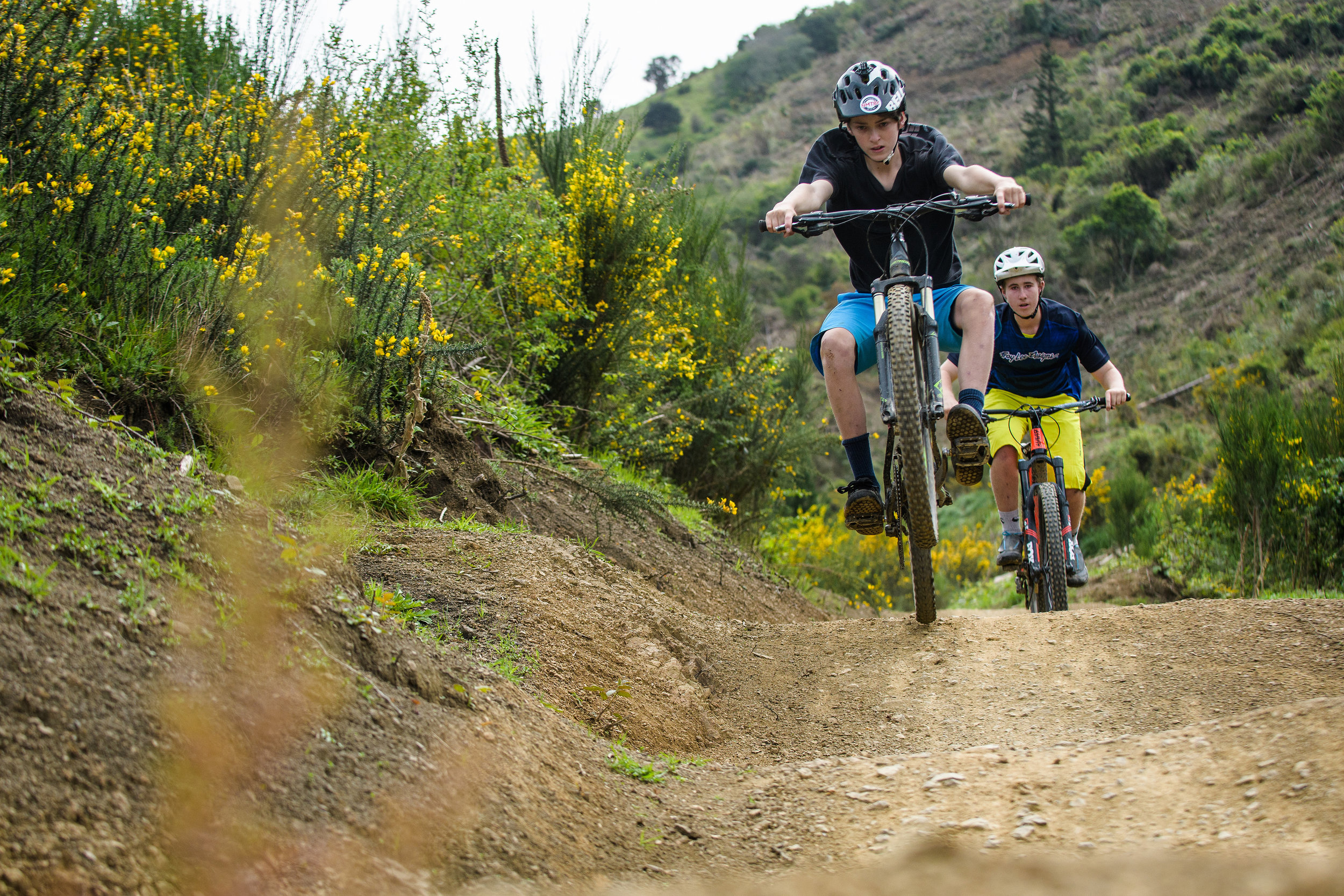 New Zealand Mountain Biker - Tim Beere Tackles The Pioneer