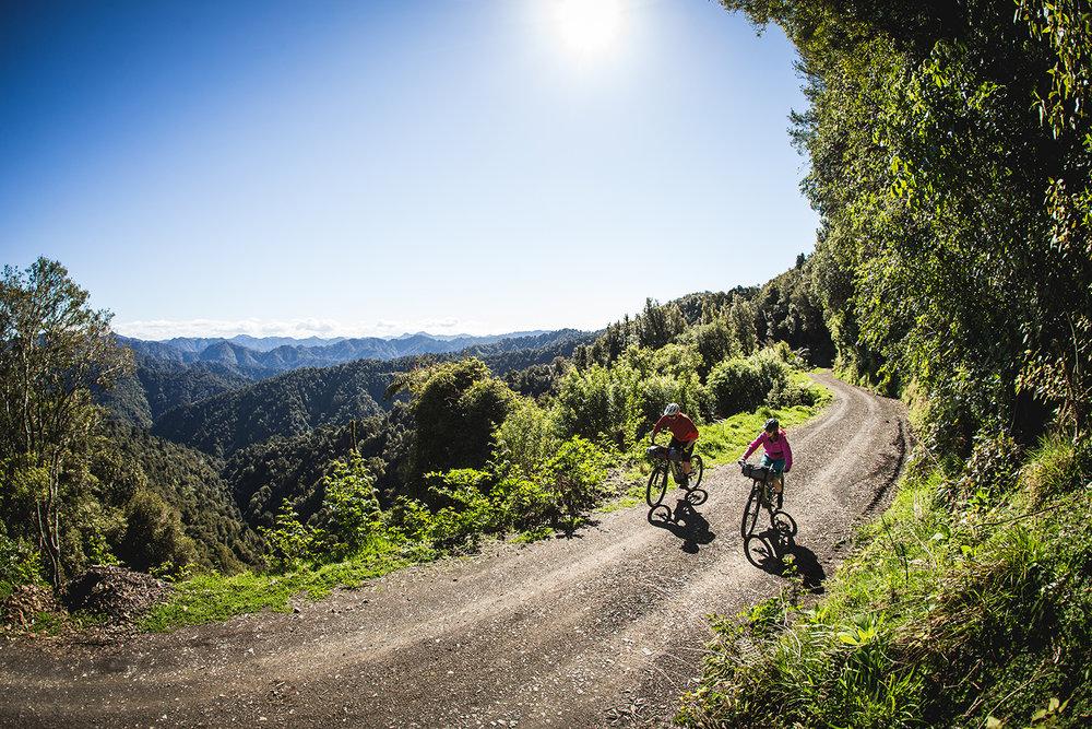 new zealand mountain biker motu