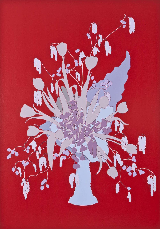 Perly drops   Acrílico sobre lienzo 150 x 112 cm. 2006