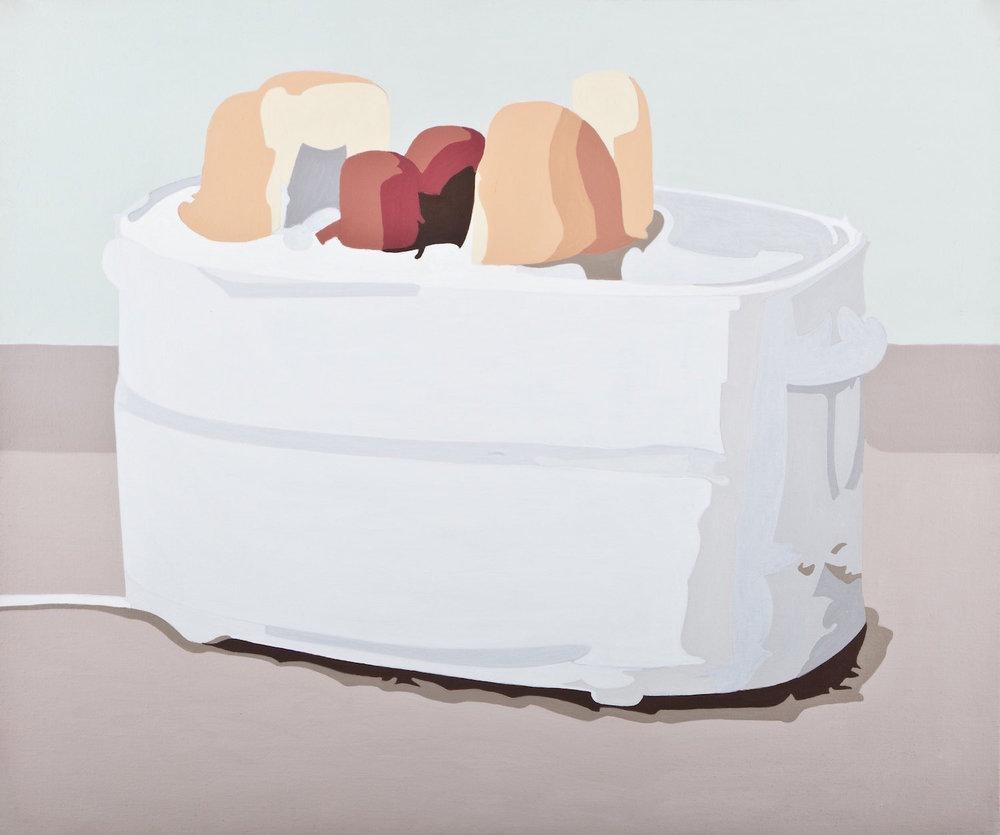 Hot dog machine   Acrílico sobre lienzo     50 x 60 cm.2010