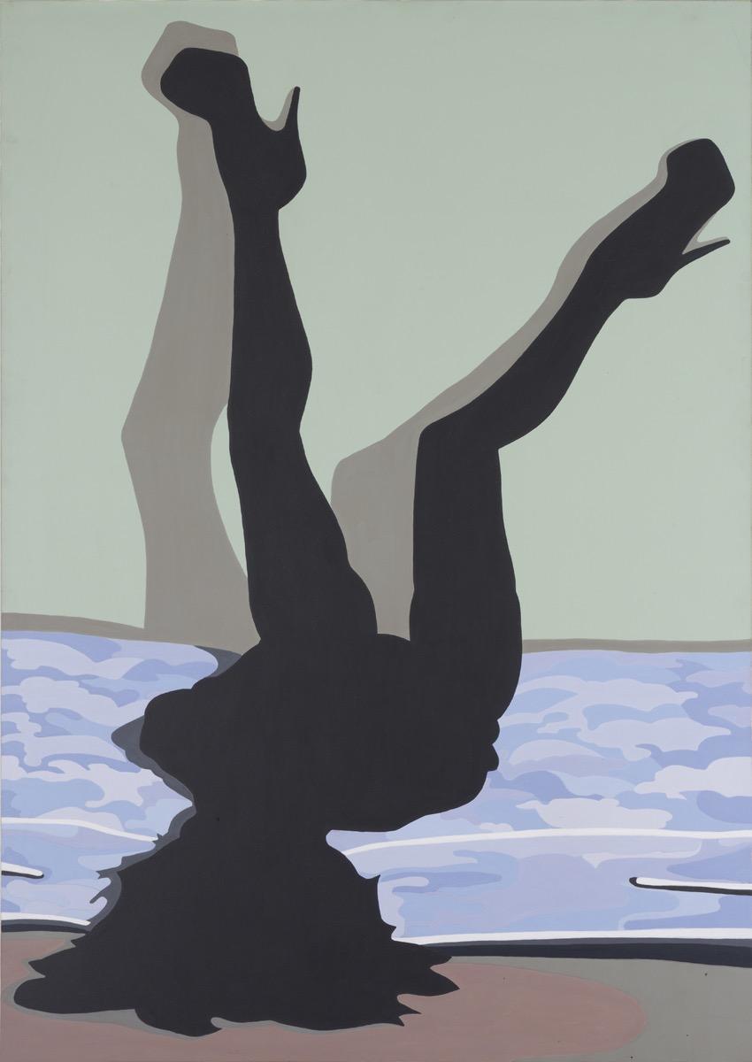 El pecado sin la culpa   Acrílico sobre lienzo     160 x 120 cm.2010