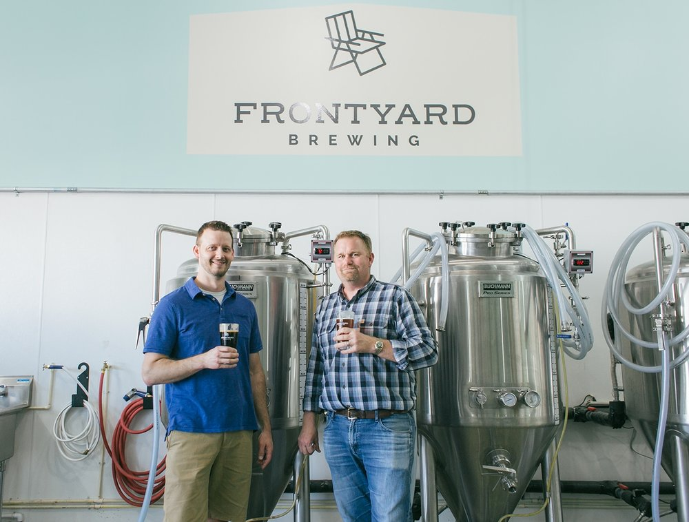 Frontyard Brewing Chad & Kevin