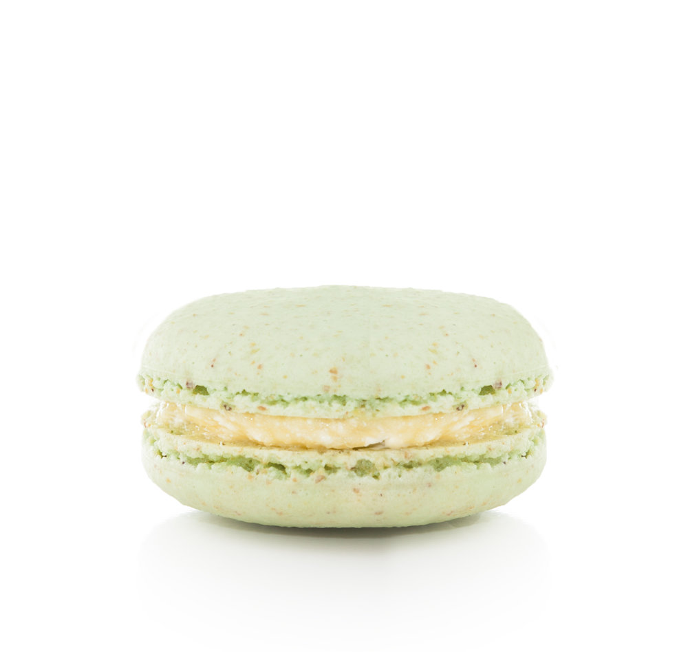 - PistachioHand-milled pistachios and Madagascar vanilla buttercream