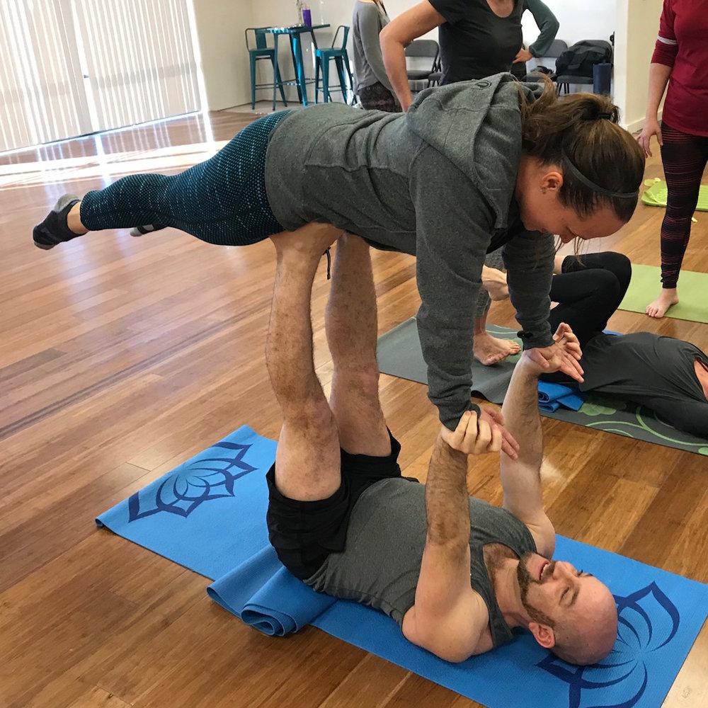 Listen Now: Boise Acro Yoga