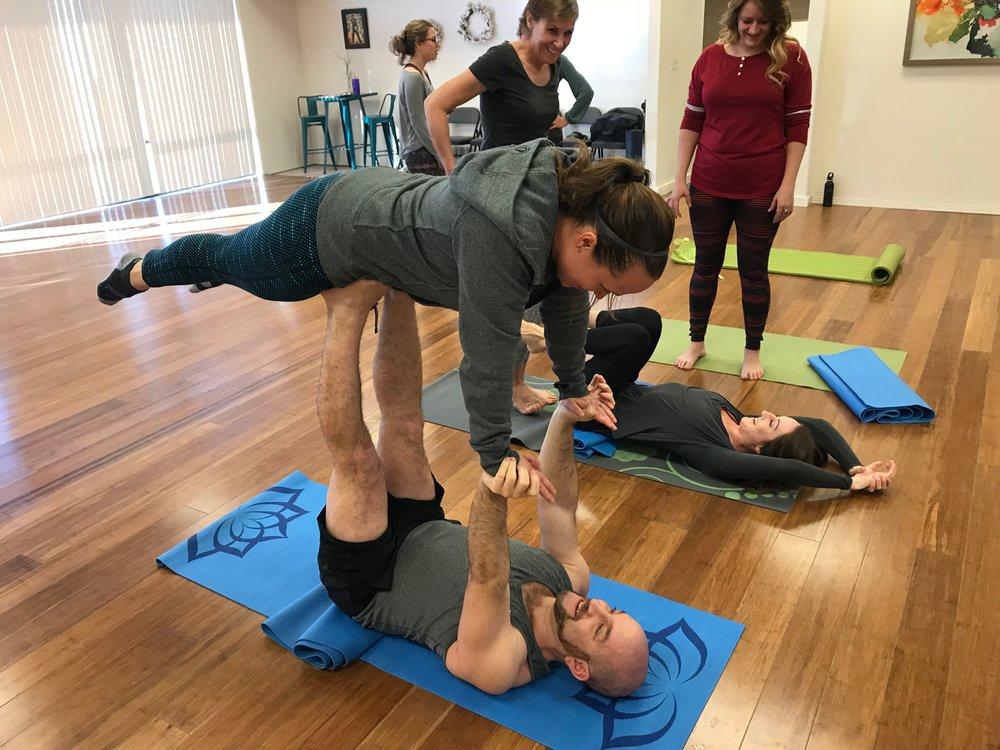 Boise Acro Yoga -