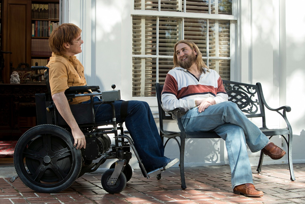 'Don't Worry, He Won't Get Far on Foot' directed by Gus Van Sant    A Berlinale darling, Gus Van Sant delivers an autobiographical film about John Callahan, a dark humored quadriplegic turned cartoonist. Much like the main character played by Joaquín Phoenix, the film rolls along the lines of humor, disgust, fright and amazement. Phoenix delivers a heartfelt and believable performance without guilting audiences too much for a man that has brought a lot of his misery on himself. After an intoxicated night out with fellow alcoholic Dexter played by Jack Black, John ends up paralyzed and in a wheelchair. Having to finally face his demons, John finds a way back into a meaningful life with the help of a few friends, most notably guru-like Donnie played by Jonah Hill. Van Sant finds a good balance between dramatic and comedic moments and creates a thoroughly entertaining film that matches well with the twisted humor of Callahan.
