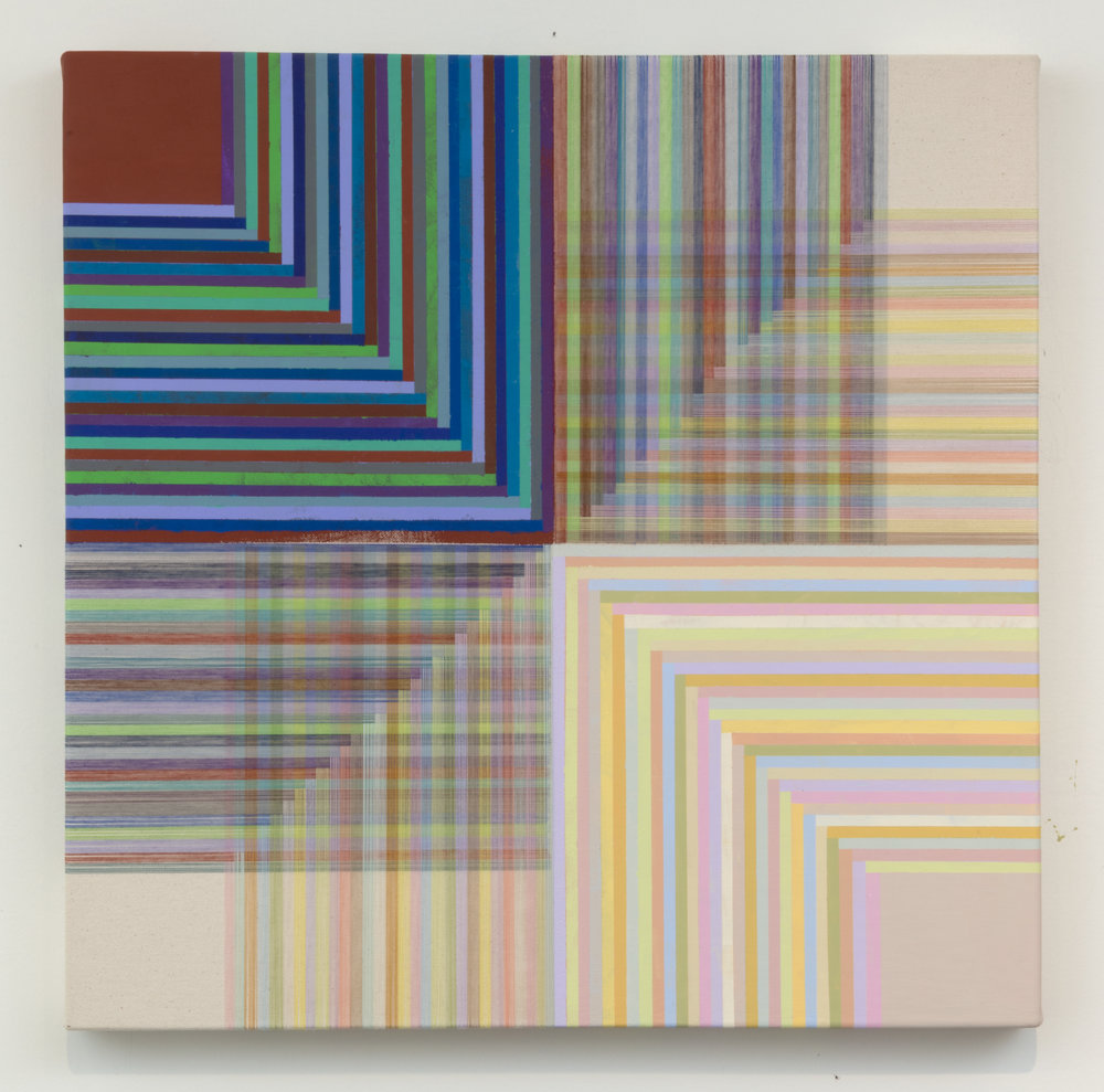 4 - Loud Sleep, 2016, 20x20 Flashe and thread on canvas.jpg