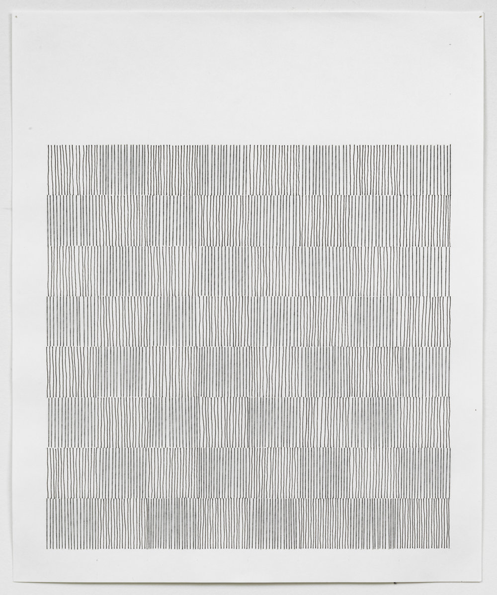 #1, 2007, Thread, ink, pencil on paper 17x14.jpg