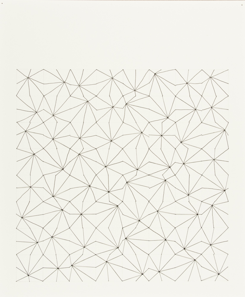 #27, 2010, Thread, ink, paper, pencil, 17x14.jpg