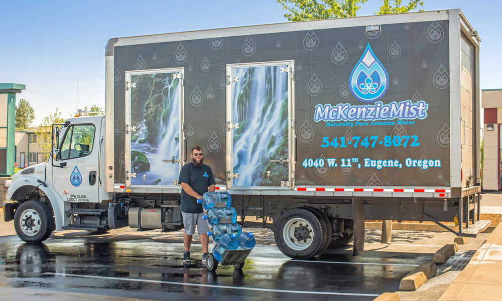 mckenzie mist bottled water delivery