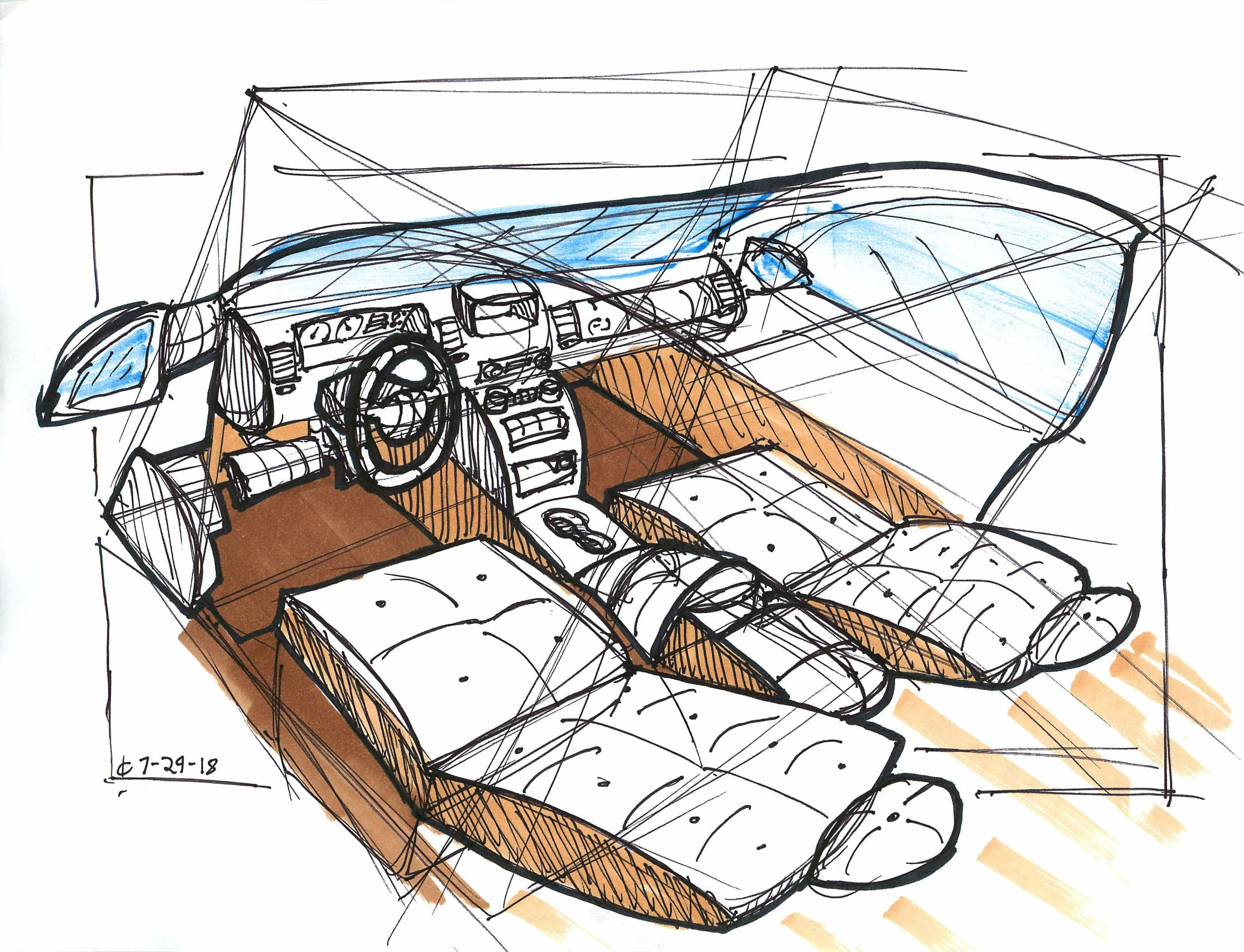 Other Projects Ben Chung Car Interior Diagram I
