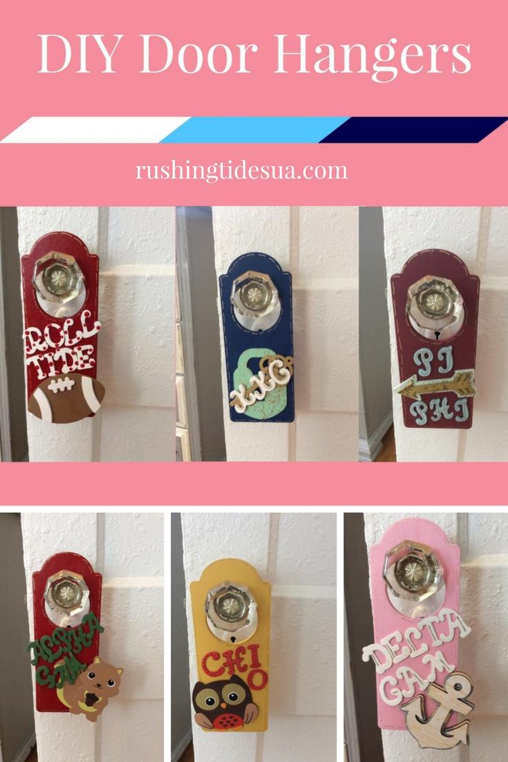 DIY Door Hangers & DIY: Door Hangers \u2014 Rushing Tides UA