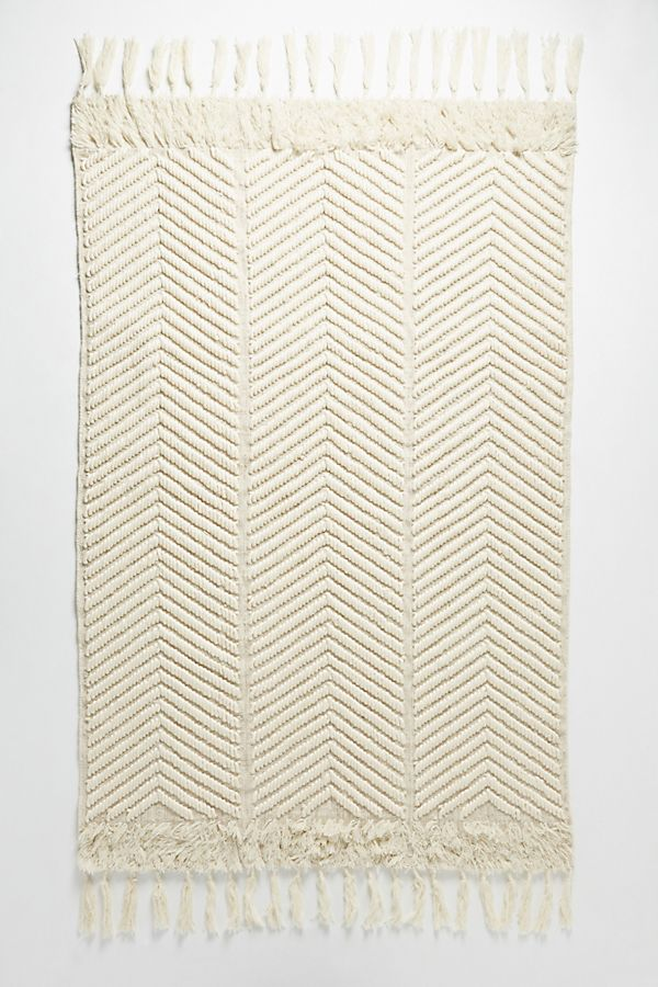 Tufted Geo-Optical Rug -