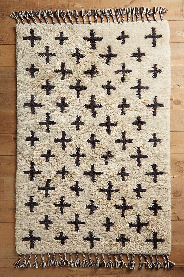 Moroccan Cross Rug -