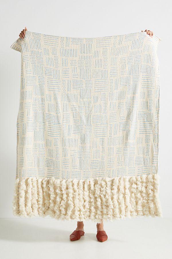 Tasseled Eden Throw Blanket -