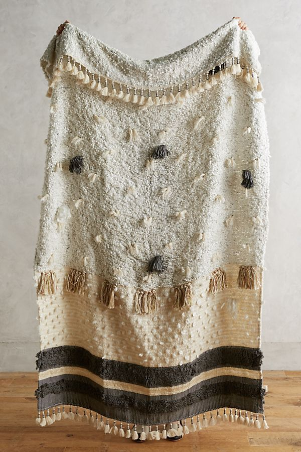 Open Market Throw Blanket -