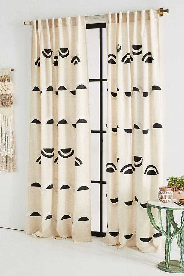 Embroidered Bailey Curtain -