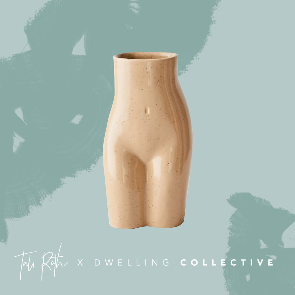 - Female Form Vase — $16