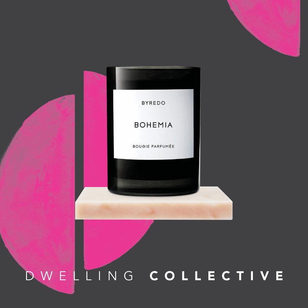 - Byredo Bohemia Candle — $80