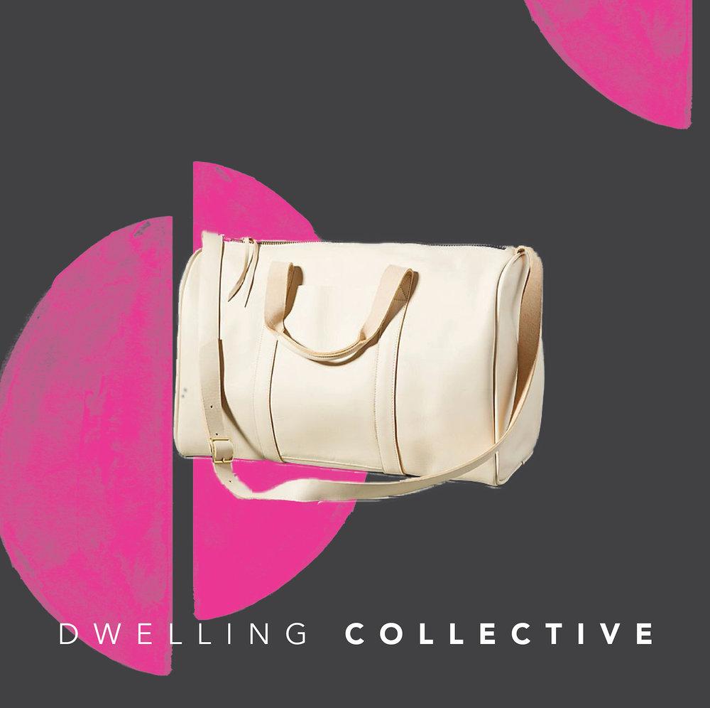 - Large Leather Weekender Bag — $408