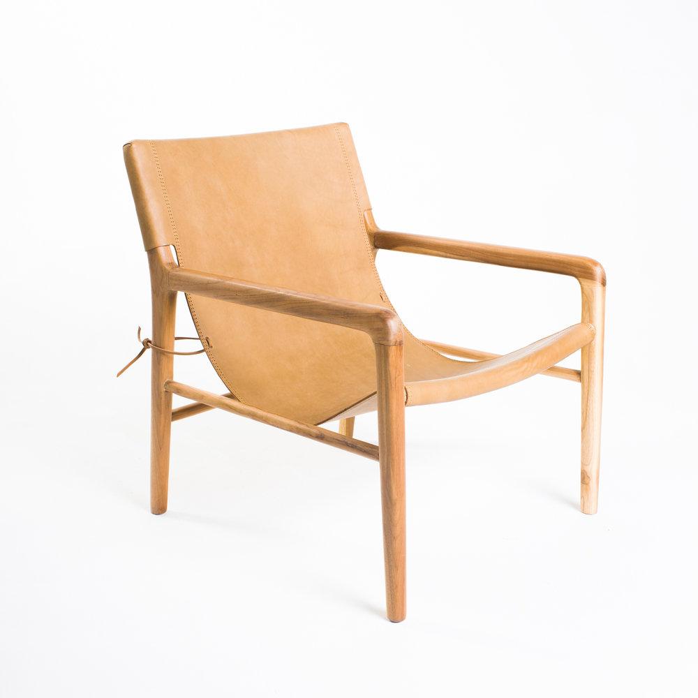 shop - Barnaby Lane Smith Armchair in Tan — $1,190