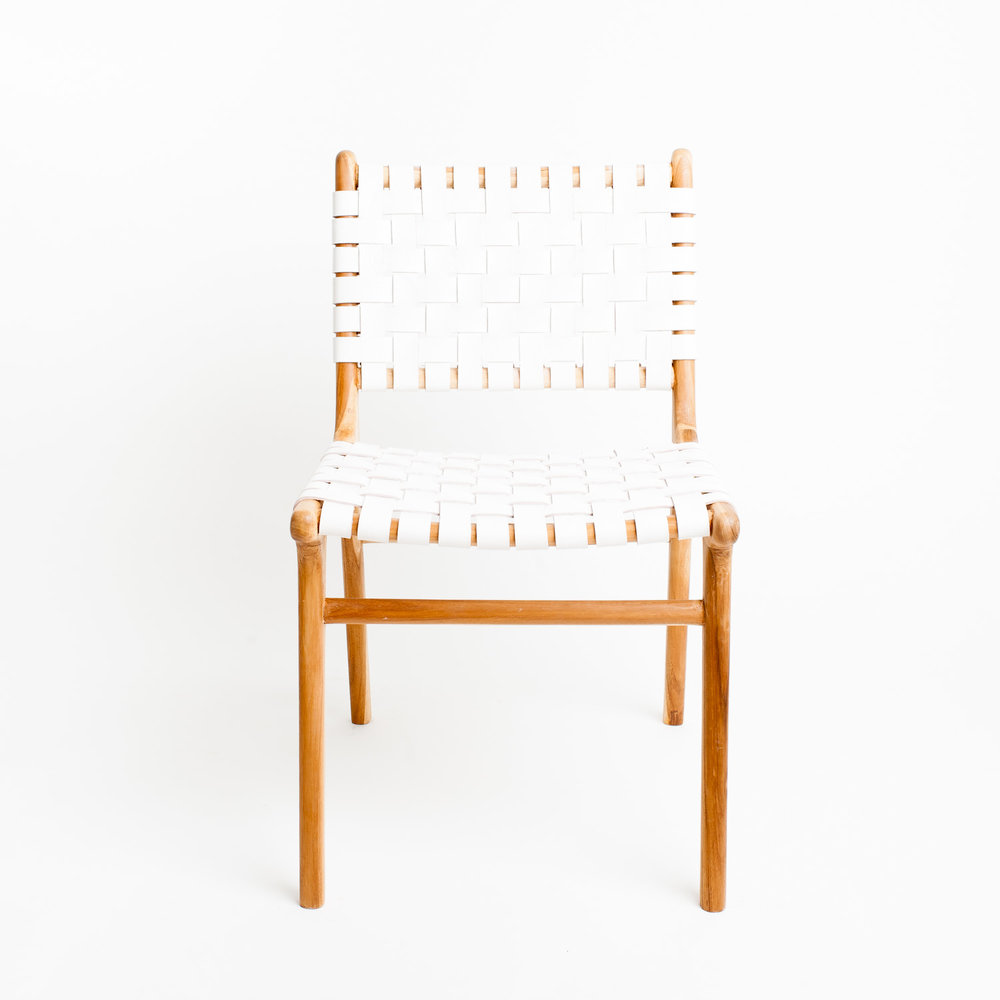 Shop - Barnaby Lane Tanner Dining Chair in White — $599