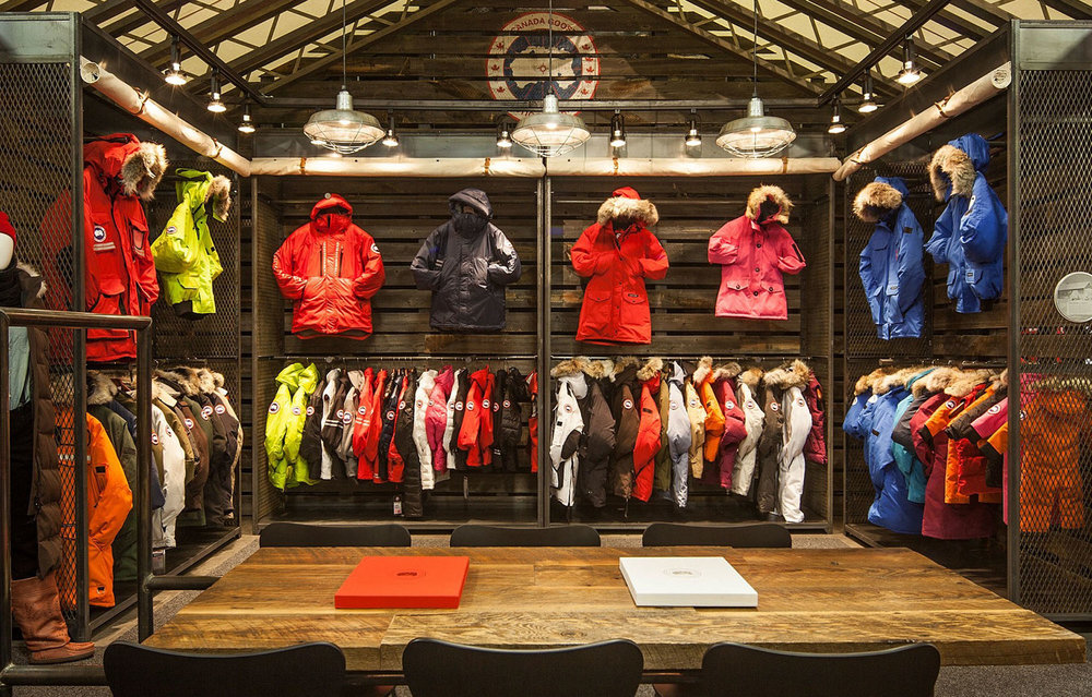 Arctic Basecamp retail experience