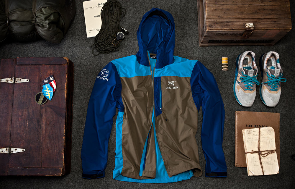 Arcteryx Seal Collaboration Campaign