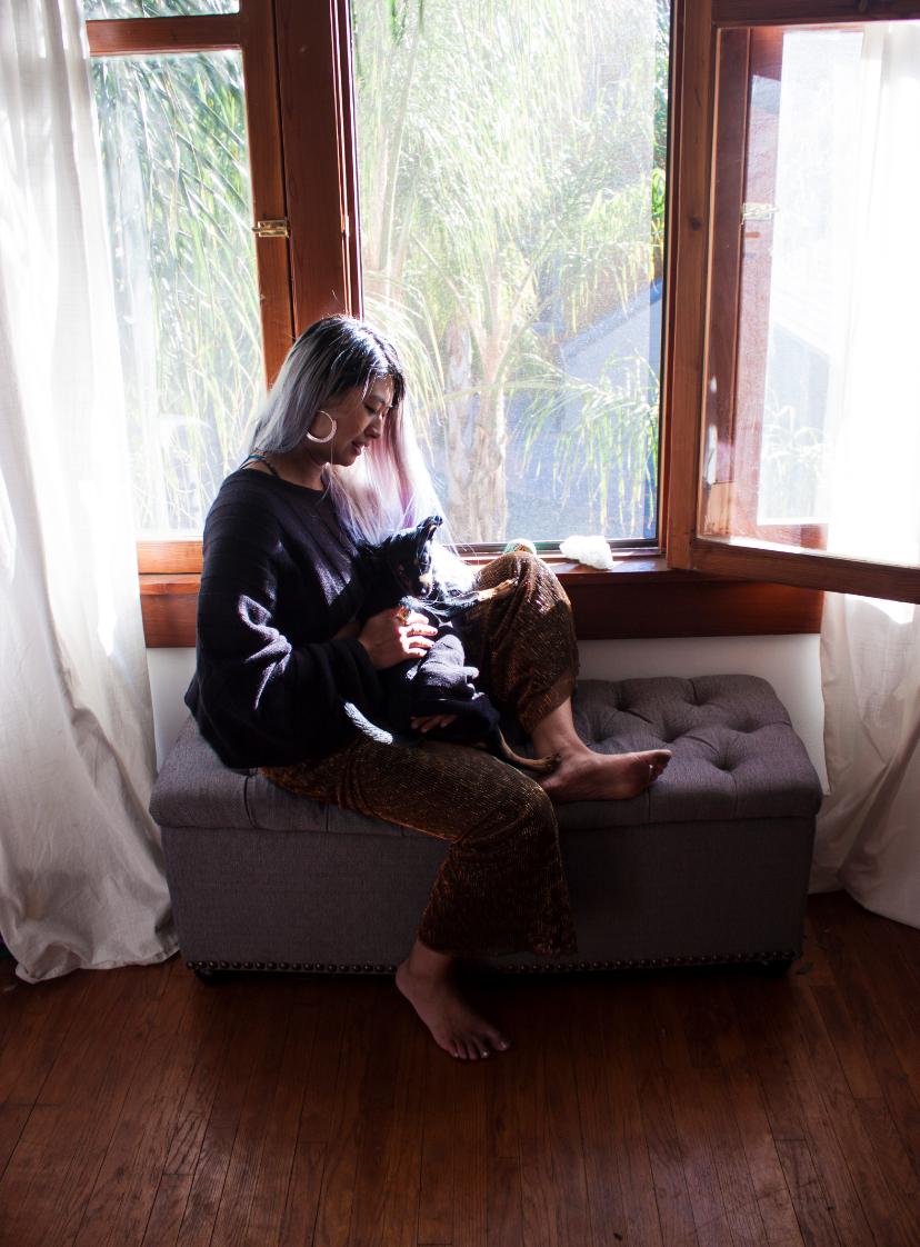 Tarot Reader Grace Duong, Creator of Mystic Mondays modern tarot