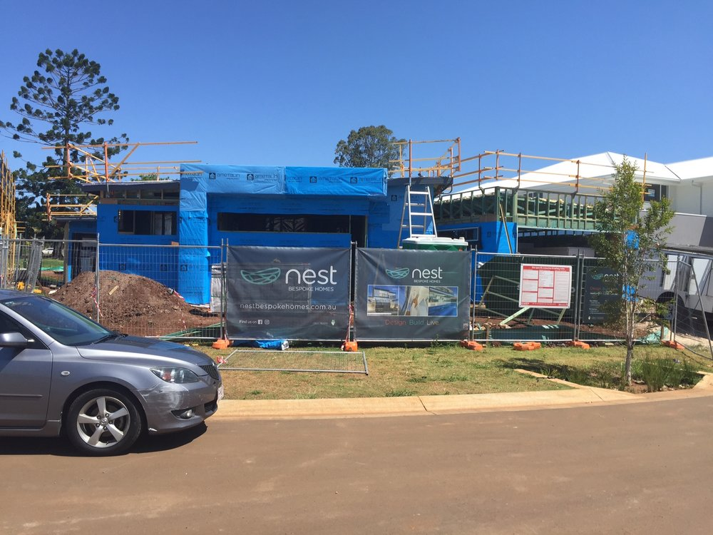 ABOVE: THE NEW LOWSET NEST IN MANLY WEST COMING TO LIFE.