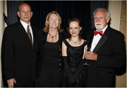 The Edgar® Awards Banquet, 2008. Megan won the Edgar® Award for Best Paperback Original for    Queenpin   .  (not shown) Megan was also nominated for an Edgar® Award in 2006 for Best First Novel for    Die A Little   .   (Matt Peyton Photography)