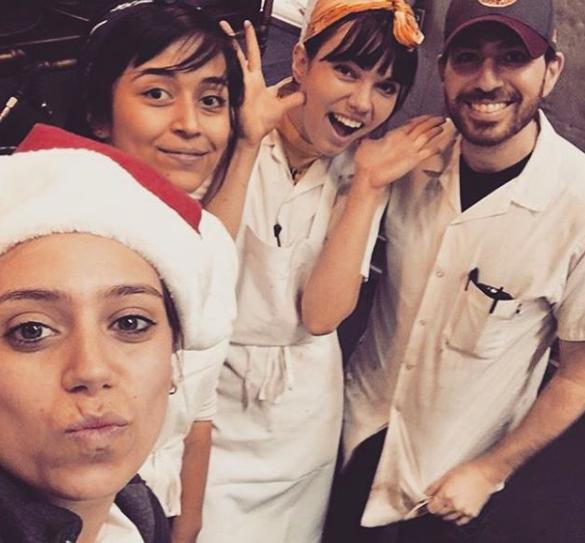 Pastry team at Mozza