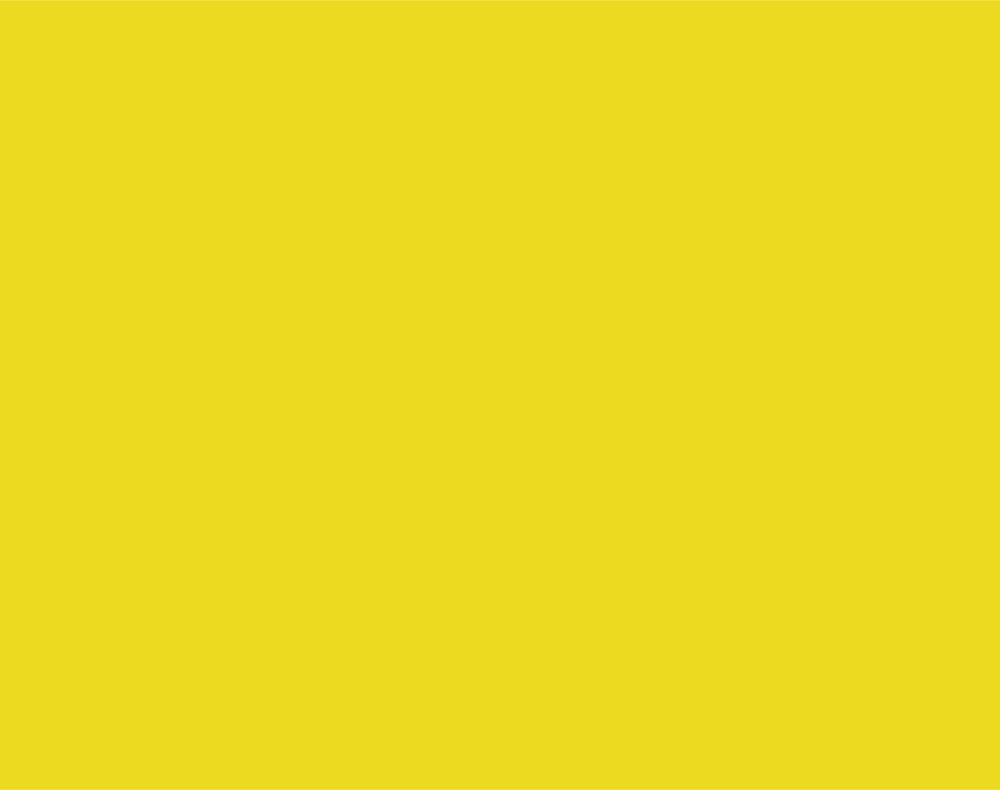 Pantone  604 C  CMYK: 5 / 0 / 94 / 0  RGB: 234 / 218 / 36  Hex: #EADA24