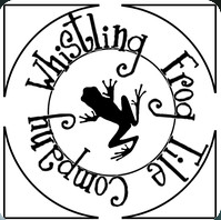The Original Whistling Frog Logo, complete with hand drawn font by Artist and founder rick pruckler. This beautiful mark is our symbol of authenticity, hand-stamped on the back of each genuine whistling frog tile.