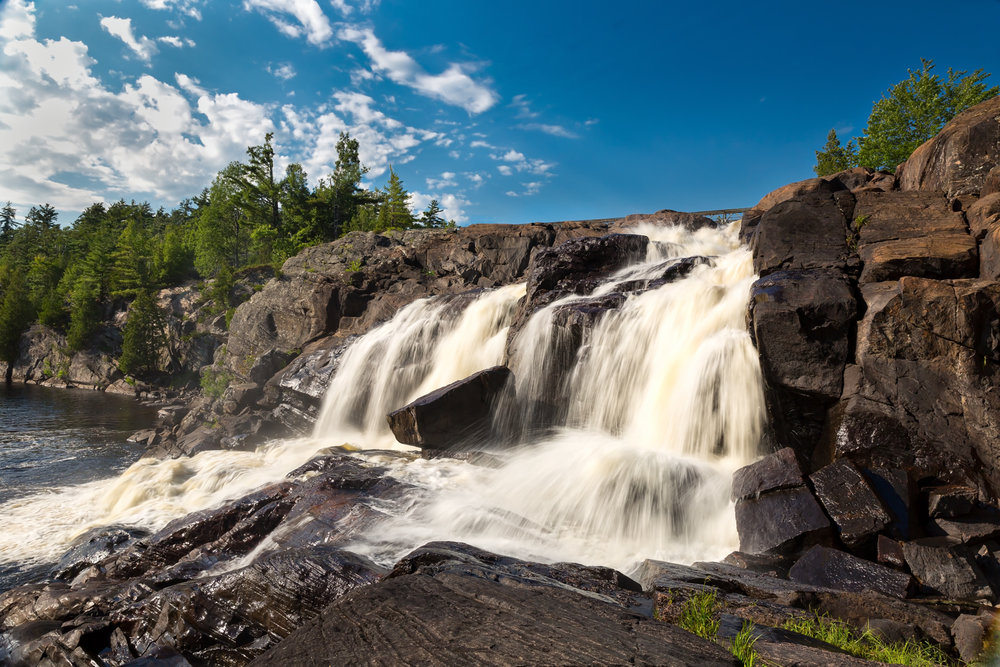 High Falls Bracebridge, ON 2017