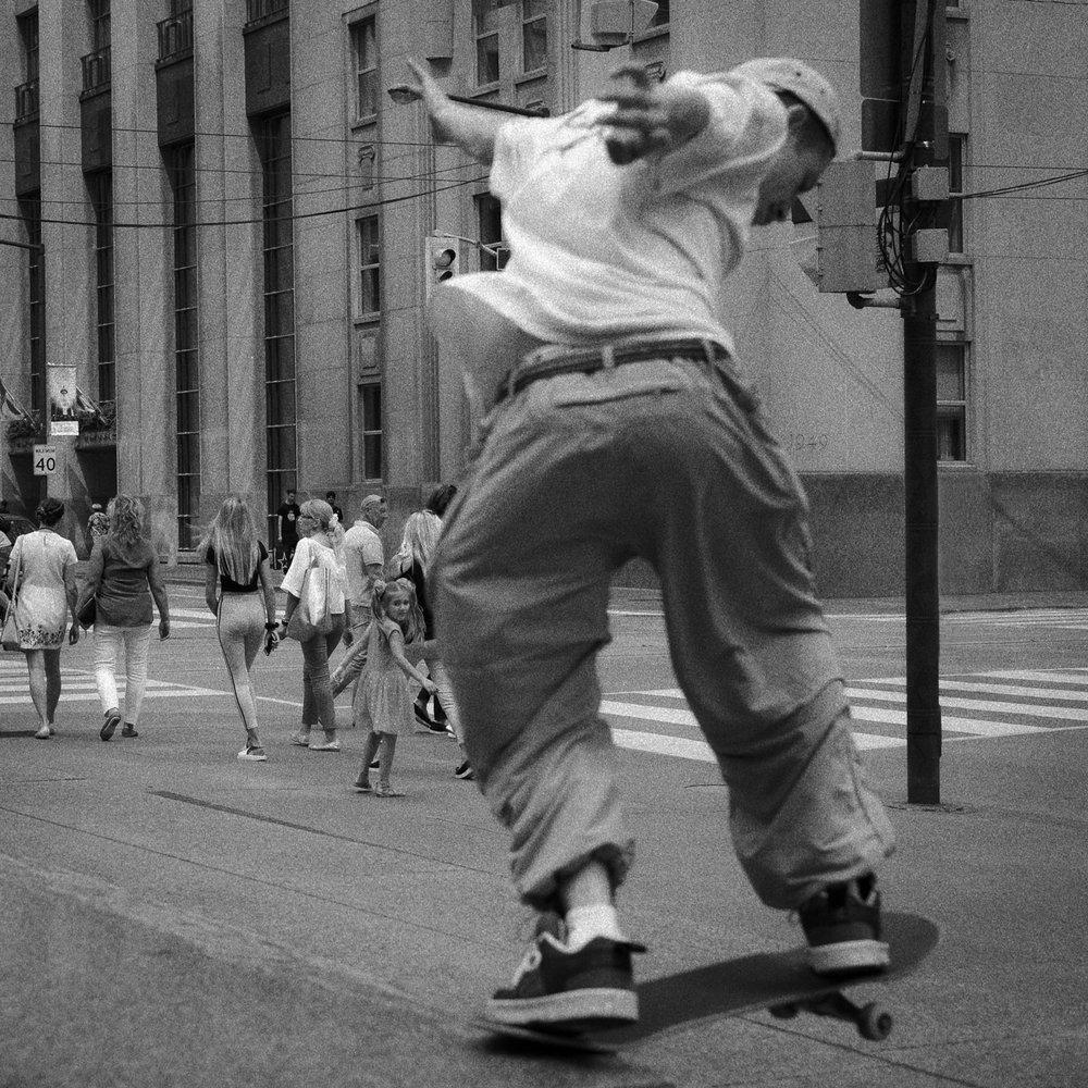 Bay Street Skater