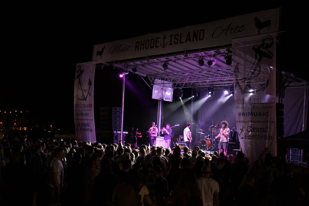 Ripe at the 2018 Rhode Island Music & Arts Festival