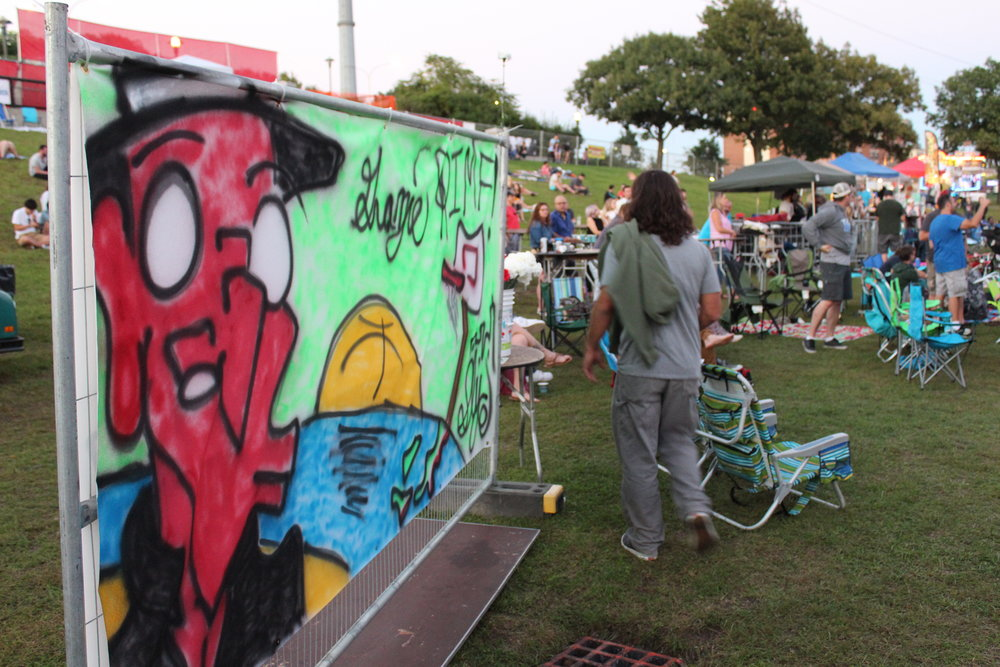 Live Art at the 2018 Rhode Island Music & Arts Festival