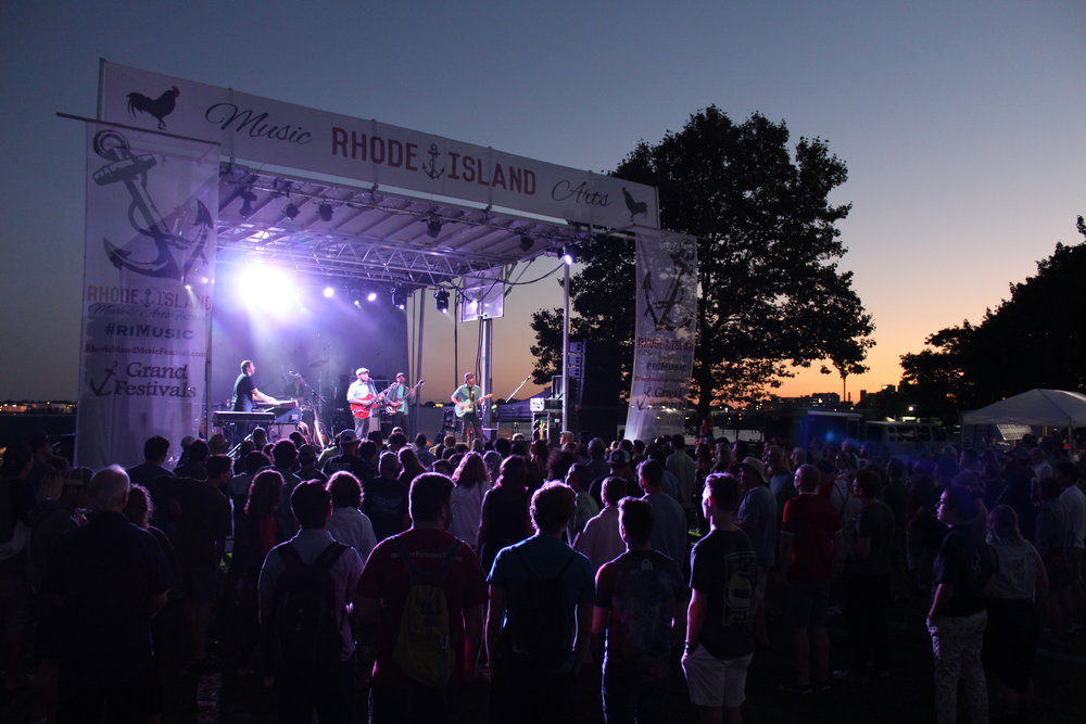 Ryan Montbleau Band at the 2018 Rhode island Music & Arts Festival