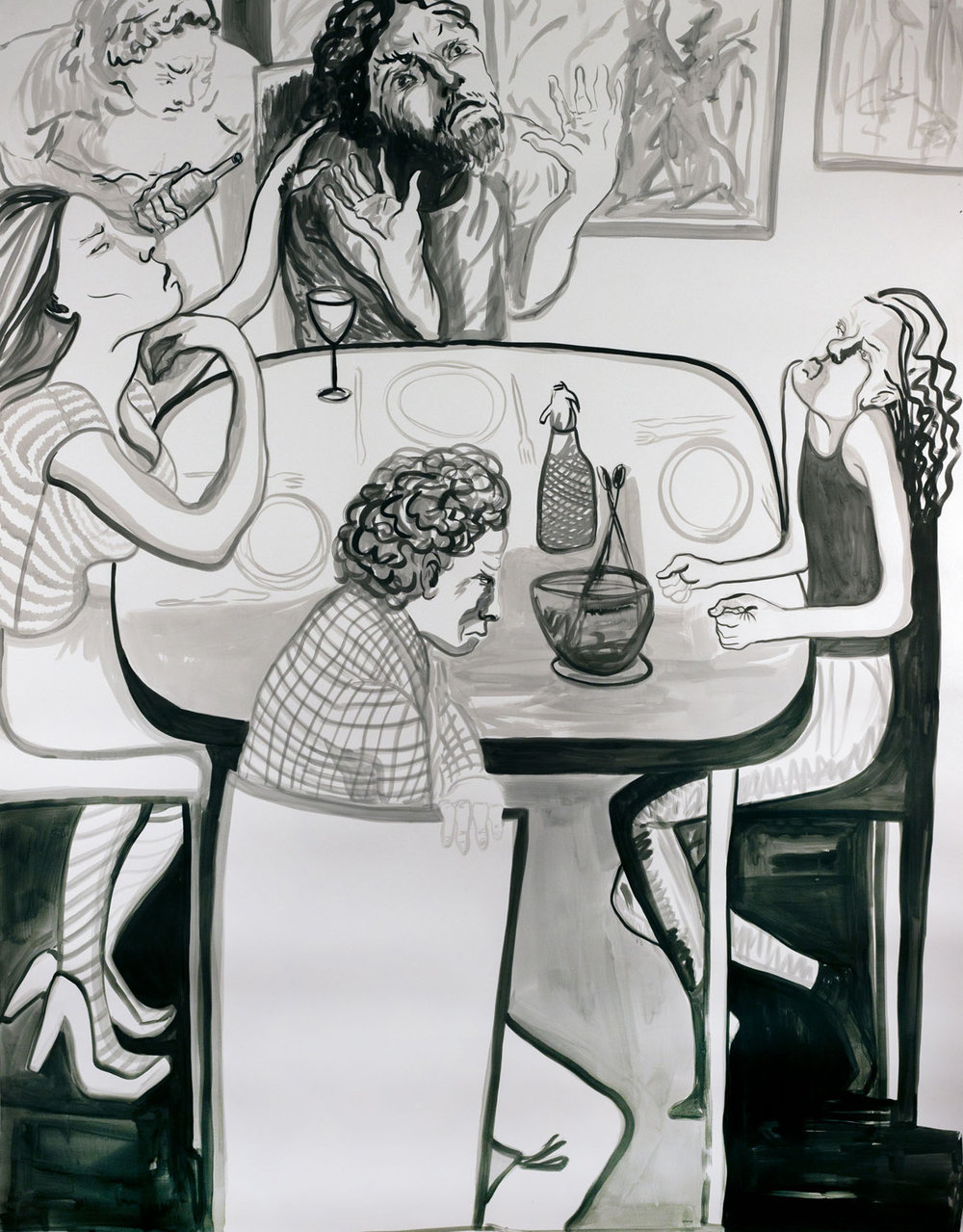 Almuerzo Tenso (Tense Lunch)