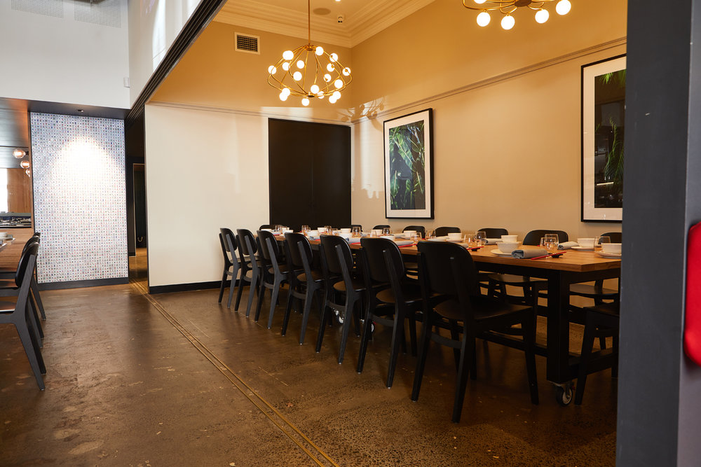 Private Dining - group bookings and events