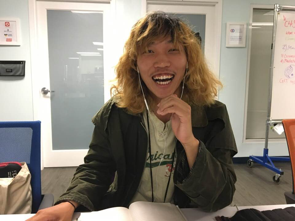 Apprentice Yutaka Studying Hard