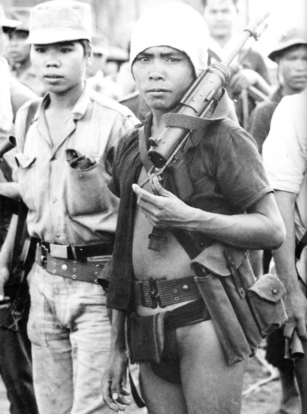 Degar tribesmen, 1962.