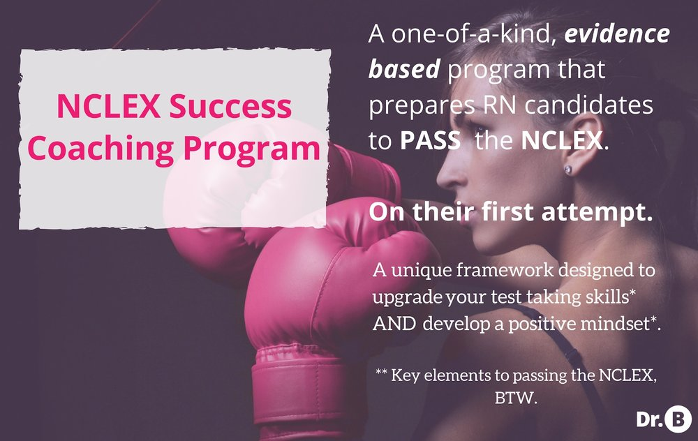 | Dr. B PRESENTS |    Challenge:  Revise NCLEX sales page so that it aligns with re-brand.   Solve:  Incorporate the perfect blend of wit, emotion and credibility, while staying on brand, enticing prospects to join  Dr. B's  acclaimed coaching program.