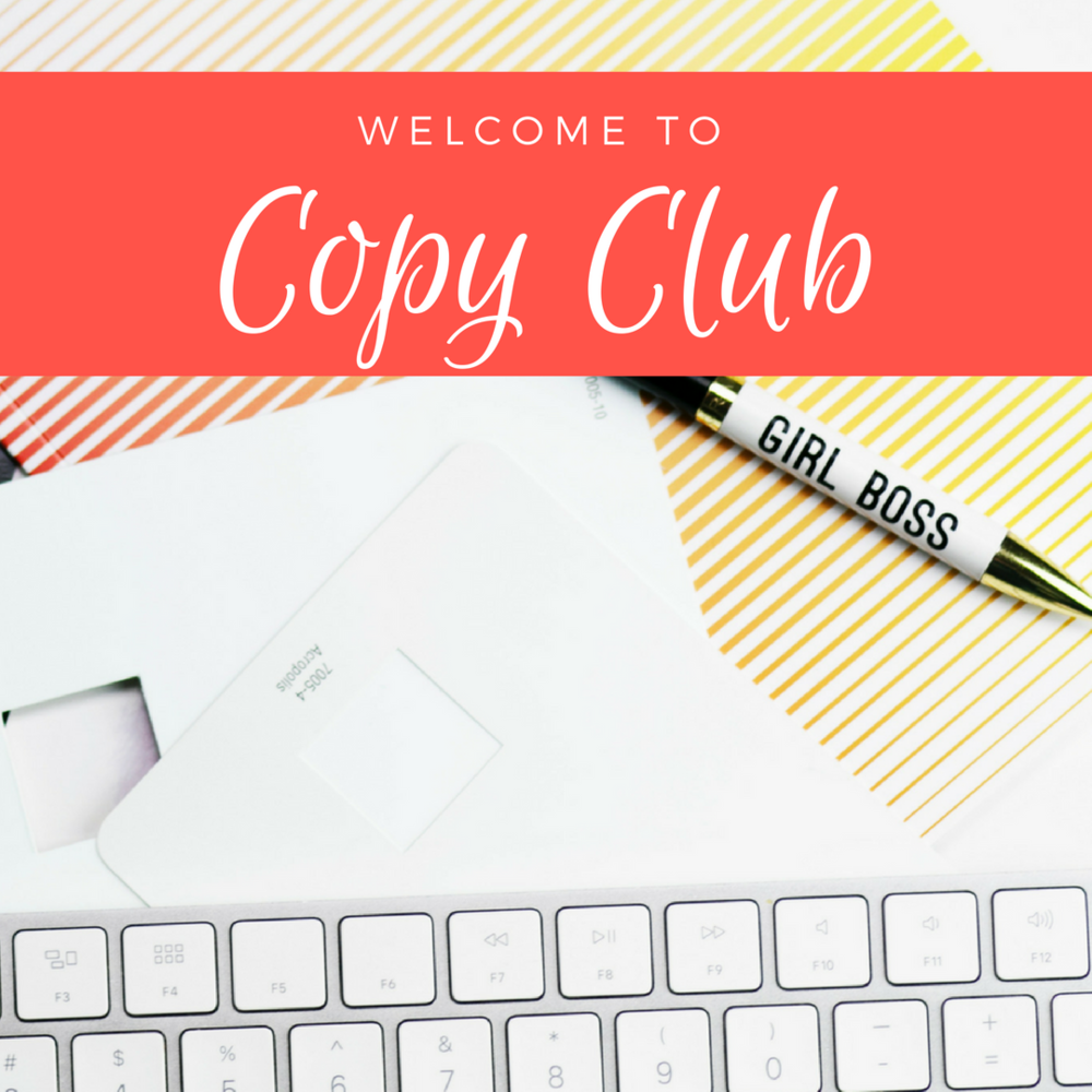 | Kelly Grace LLC |    Challenge:  Design a social media campaign to promote new membership site.   Solve:  Using my skillful blend of heart + credibility (once again), I crafted a  social media campaign  to promote my innovative membership site,  Copy Club .