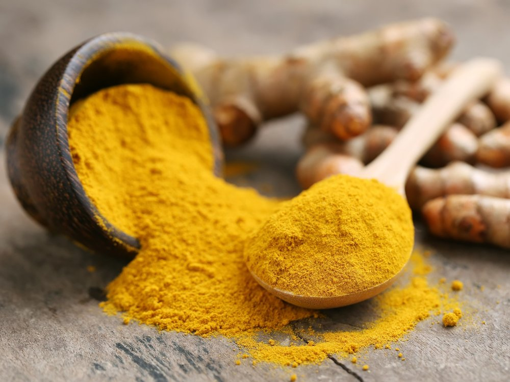 Get in as much turmeric as you can, the more the better!