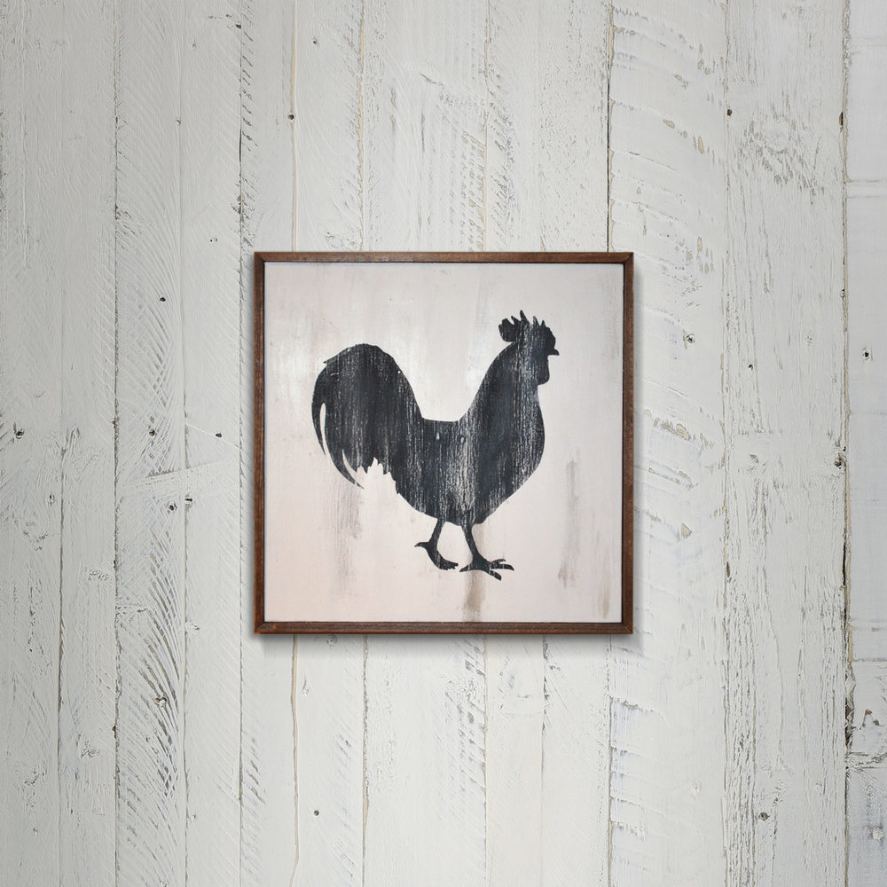 Rooster Sign