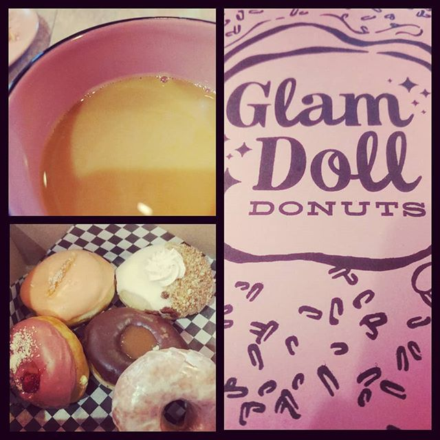 Starting the day off right. @glamdolldonuts #sugar #foodie #howcanyoupickjustone #sweettooth #donuts #minnesotafood #twincities #minnesota