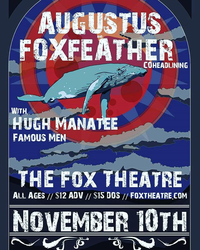 The ladies are back from #tour and excited to see you all at @the_fox_boulder on November 10th!! We will be sharing the stage with local legends @augustusband , @hughmanateeband , and @wearefamousmen ! Tix are $12 in advance and can be delivered by hand ! Private message @foxfeathermusic for info on how to get 'em or check out @the_fox_boulder website. #tour #music #localmusic #locallovin #gonnabeagoodone #foxylady