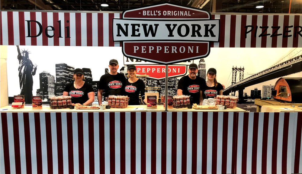 The team launching Bell's @ The Food Show Auckland